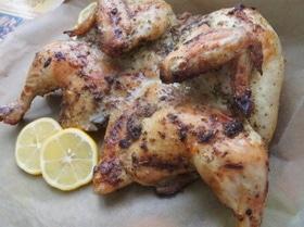 Курица в лимонно-масляном маринаде