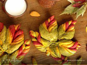 Хлеб овощной «Листья»