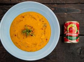 Суп с красной чечевицей и паприкой