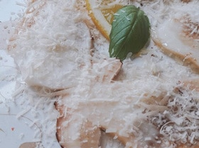 Карпаччо из боровиков
