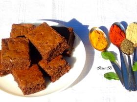 Влажный шоколадно-кофейный пирог