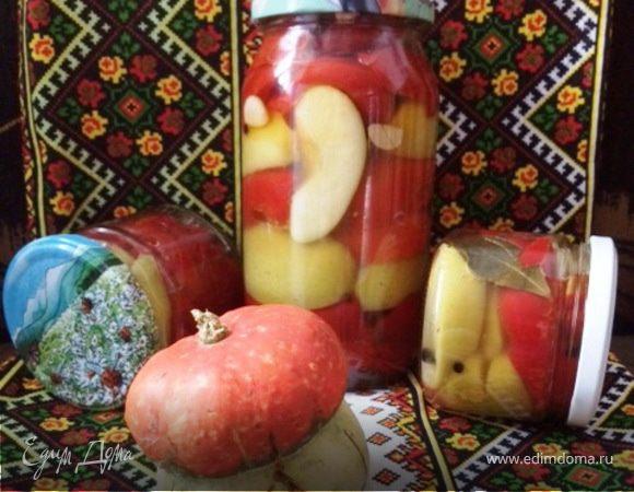 Маринованные гогошары с медом и яблоком