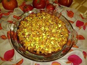 Яблочный пирог на ряженке