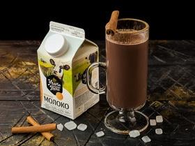Пряное какао с топленым молоком