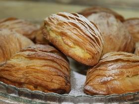 Неаполитанское пирожное Le Sfogliatella