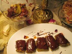Шоколадные баклажаны по-итальянски