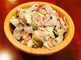 Салат с ростбифом в деревенском стиле