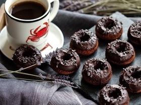 Шоколадные пончики от Декстера