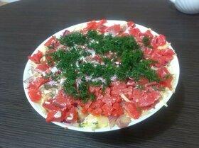 Салат «Семга на шубке»