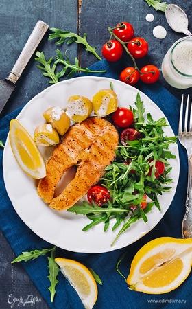 Готовим стейк из рыбы