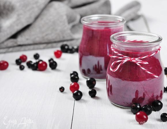 Напитки с сезонными ягодами