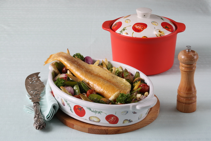 Набор керамической посуды от Юлии Высоцкой