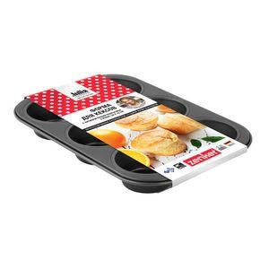 Форма для кексов с антипригарным покрытием;