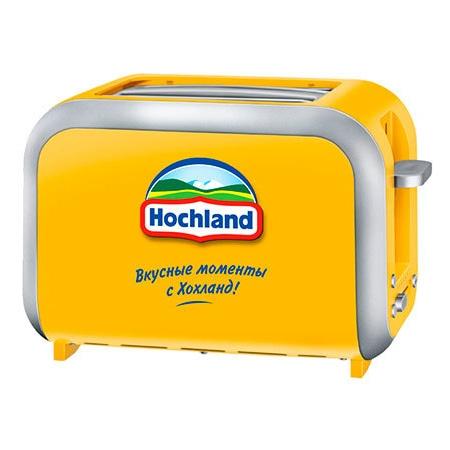 Фирменный тостер Hochland
