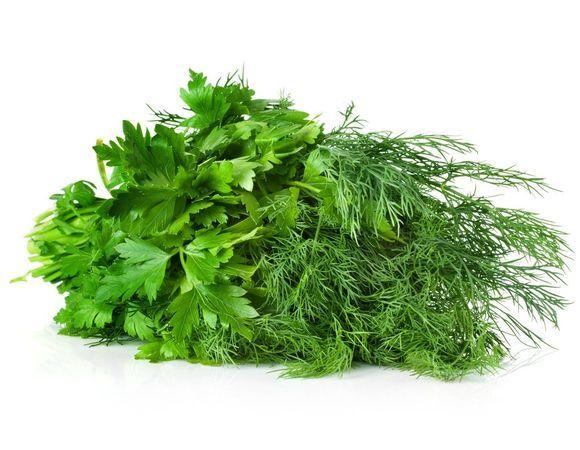 Зелень, травы, цветы