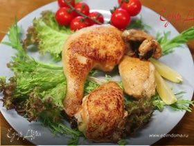 Как пожарить курицу с хрустящей корочкой
