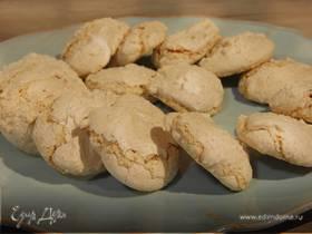 Ореховое печенье на белках