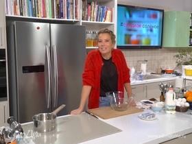 Рецепт горячего шоколадного пудинга с нотками цитруса от Юлии Высоцкой | #сладкоесолёное №64