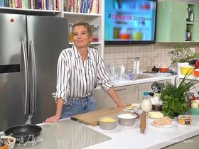 Рецепт сытного киша с индейкой и сыром от Юлии Высоцкой | #сладкоесолёное №65