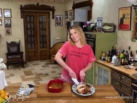 Рецепт цыпленка в абрикосовом маринаде от Юлии Высоцкой | #сладкоесолёное №89