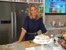 Бисквитный торт с вареньем от Юлии Высоцкой | #сладкоесолёное №103