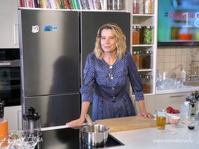 Рецепт желе из свежей клубники от Юлии Высоцкой | #сладкоесолёное №119