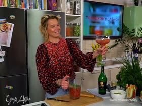 Хумус со шпинатом и лимонад с малиной и мятой от Юлии Высоцкой | #сладкоесолёное №126