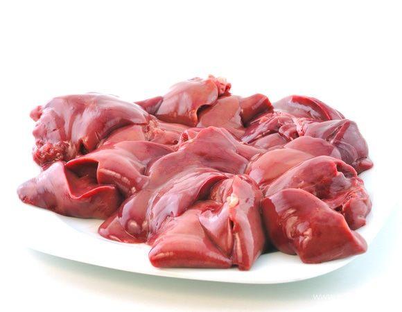 Куриные желудочки