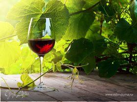 Вино красное сухое