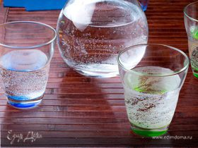 Вода минеральная газированная