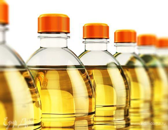 Растительное масло нерафинированное