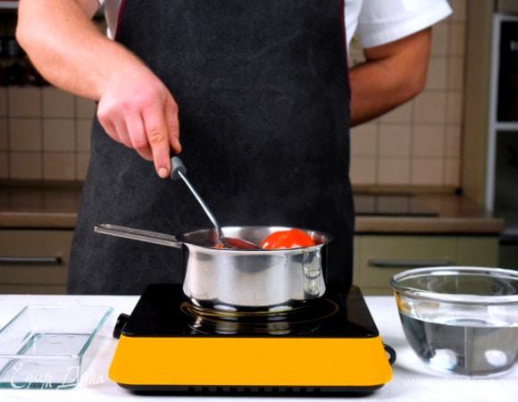 Как очистить помидоры от кожицы