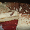 Трюфельный торт из белого шоколада