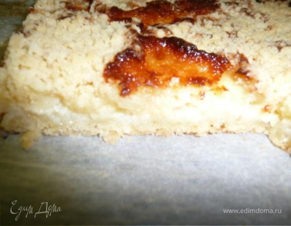 Нежный пирог из творога
