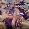 Пирог со сливами и абрикосами