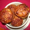 Яблочно-геркулесовые кексы с корицей