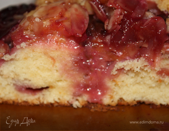 Сливовый пирог татен