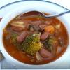 Томатный суп с фасолью и брокколи