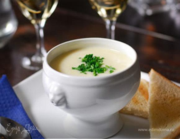 Молочный суп с творожными клецками