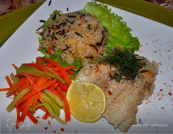 Филе белой рыбы в азиатском стиле. (Asian Style White Fish)