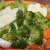Морковное брокколи с твердым сыром