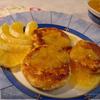 Апельсиновые сырники с апельсиновым вареньем