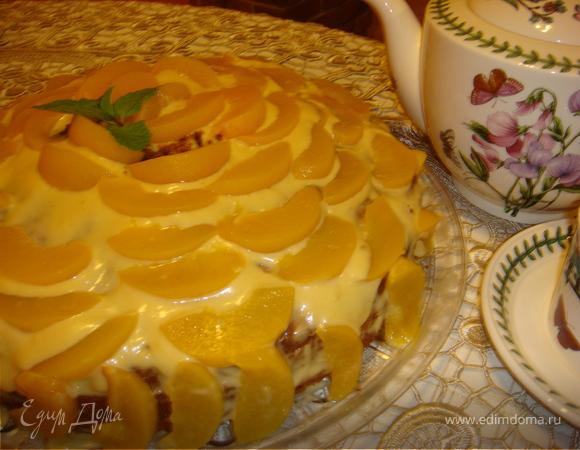 """Торт """"Шифон"""" - для тех кому нельзя шоколад"""