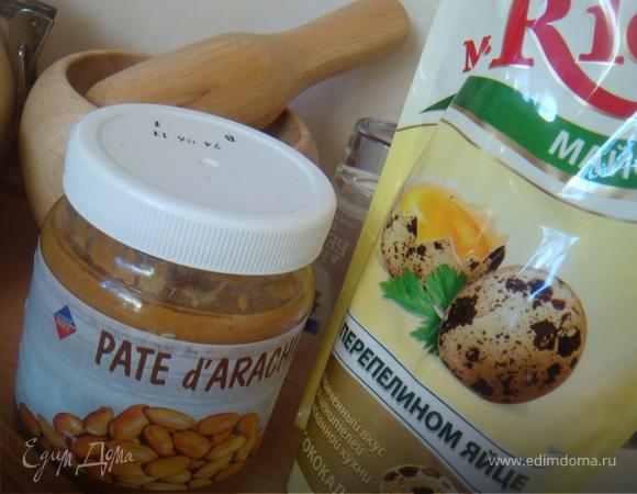 Курочка в арахисовом соусе