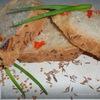 Пикантный хлеб с семенами горчицы, болгарским перцем и тмином