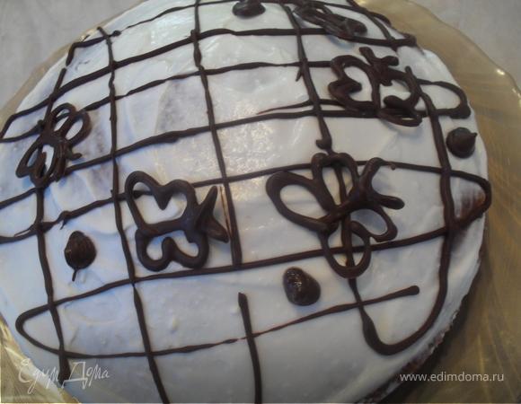 """Торт """"Шоколадно-кофейный"""""""