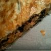 Пирог с грибами и рыбой