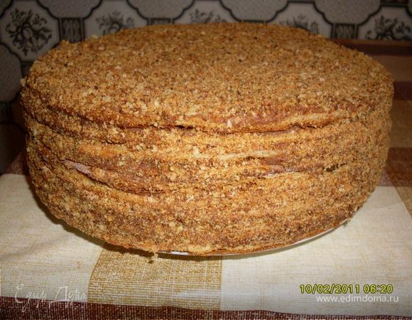 Торт медово-шоколадный