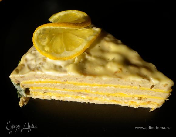 """+ Торт закусочный """"Рыбный"""""""