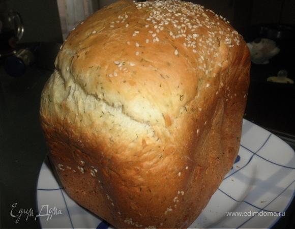 Хлеб с укропом